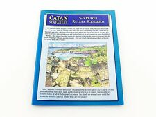 Catan: Seafarers 4e Replacement 5 - 6 Player Extension Rules & Scenarios Booklet