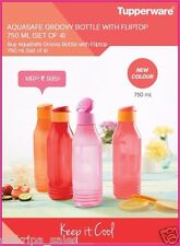 TUPPERWARE 750ML TRIANGLE BOTTOM BOTTLES - SET OF 2