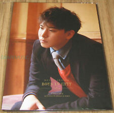 SUPER JUNIOR BOYS IN CITY SEASON 4 PARIS SUNGMIN A4 SIZE BINDER OFFICIAL GOODS
