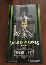 Mezco Toyz Living Dead Dolls Showtime Beetlejuice LDD