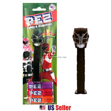 PEZ Candy Dispenser with Candy : Power Ranger - Black Red Pink