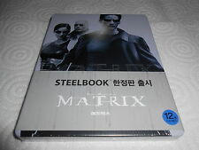MATRIX KOREAN EXCLUSIVE STEELBOOK WITH OBI SEALED BRAND NEW RARE !!