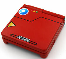 Custom Printed & rociado Pokedex Pokemon SP Nintendo Game Boy Advanced SP