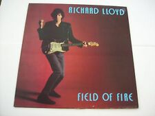 RICHARD LLOYD - FIELD OF FIRE - LP VINYL 1985 SWEDEN PRESS - TELEVISION