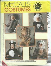M 8938 sewing pattern SKUNK LION MONKEY ELEPHANT PANDA sew CUTE Tom Arma COSTUME