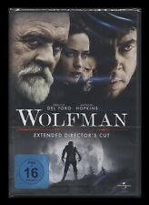 DVD WOLFMAN - EXTENDED DIRECTOR'S CUT - ANTHONY HOPKINS + BENICIO DEL TORO * NEU