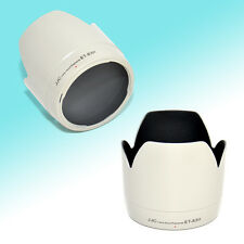 White Lens Hood Tulip Flower Shade for Canon 70-200mm USM Non-IS 77mm (ET-83II)