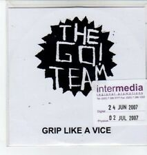 (BO568) The Go! Team, Grip Like A Vice - 2007 DJ CD