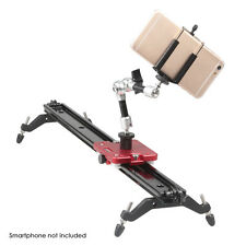 "Kamerar SLD-470 47"" Mark II Video Camera Slider + 7"" Friction Arm + Phone Holder"