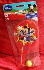 Disney Mickey Mouse Clubhouse PADDLE BALL Game Toy 9 Inch Brand New