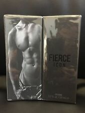 FIERCE ICON by ABERCROMBIE & FITCH 1.7 oz 50 ML COLOGNE SPRAY MEN NIB
