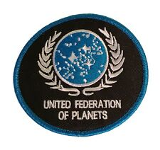 Star Trek The Next Generation United Federation of Planets UFP Emb Iron On Patch