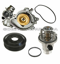 WATER PUMP + GASKET + PULLEY + THERMOSTAT ASSEMBLY for BMW E70 X5 E71 E60 E65