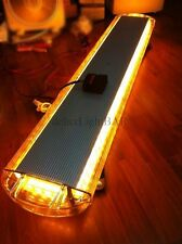 "LED LIGHT BAR-EMERGENCY BEACON CONSTRUCTION TRANSPORT TOW AMBER 47"" 88W 12V/24V"