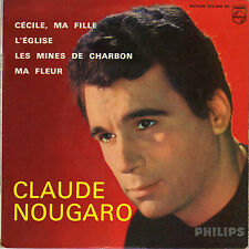 CLAUDE NOUGARO CECILE, MA FILLE FRENCH ORIG EP MICHEL LEGRAND