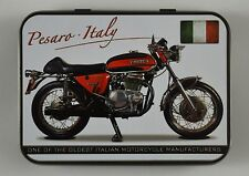 Collectable Benelli Tornado 650 Motorcycle Keepsake/Tobacco Tin. Garage/Gift NEW