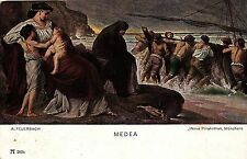 """""""Medea"""", A. Feuerbach, Künstlerkarte, um 1910/20"""