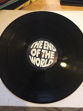 "The End Of The World - Slam The Track/rollercoaster Ok1 White Label  12"" Vinyl"