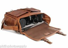 ONA Prince Street Tan Leather Camera / Messenger Bag - Handcrafted Premium Bags