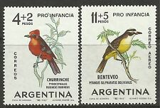 ARGENTINA. 1963. Child Welfare (Birds) Set. SG: 1101/02. Mint Never Hinged.