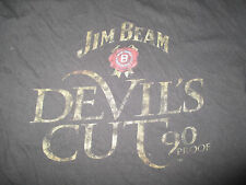 JIM BEAM DEVIL'S CUT 90 Proof Lady's Cut (XL) T-Shirt