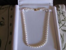Great Valentine Gift - Lady's Eighteen Inch Pearl Necklace - $900(Charlotte, NC)