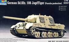 Trumpeter German Sd.Kfz.186 Jagdtiger Porsche - 1:72 Modell-Bausatz NEU OVP Tank