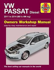 Haynes Manual Volkswagen Passat Diesel 2011-2014 NEW 6361