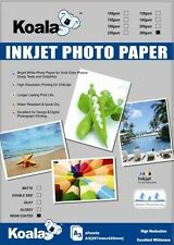 A3 Glossy RC (resin coated) Inkjet Photo Paper 260gsm (20 Sheets)