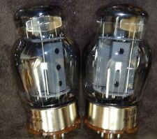 EXTREMELY RARE PAIR TUNGSOL VINTAGE 1965 KT88 / 6550 3 GETTER TUBES AMAZING! NOS