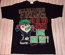 vtg 90s 1995 looney TOONS taz devil HALLOWEEN frankenstein SHIRT large L costume