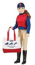 "Breyer Eventing Rider Sarah 8"" Doll Limited Edition Traditional 1:9 Scale No.547"