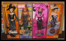 NRFB MATTEL BARBIE DOLL LOT HALLOWEEN PINK  STAR  GLOW ENCHANTRESS HALLOWEEN