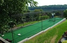 """12' x 14' x 35' #42 Knotted Baseball Batting Cage Net, Frame, Free """"BP Catcher"""""""