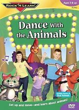 Rock 'N Learn: Dance With The Animals (DVD, 2006)