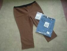 Denim 24/7 Womens Plus 2pr Stretch Capris Leggings Cropped Pants Size 24W New