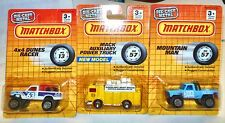 SUPERFAST MB57 MOUNTAIN MAN , MB13 4X4 DUNES RACER & MB57 MACK AUXILIARY TRUCK