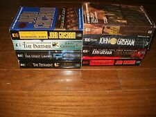 John Grisham Legal Thrillers Mystery Lot of 8 Books Preowned (Paperbacks)