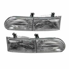 GULF STREAM SUN VOYAGER 2003 2004 PAIR HEADLIGHTS HEAD LIGHTS LAMPS RV - SET