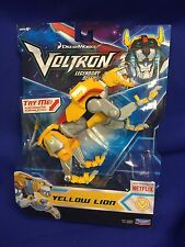 2017 Playmates Voltron Legendary Defender Netflix Figure MOC - YELLOW LION