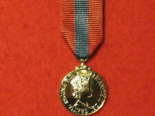Miniature Imperial Service Medal ISM EIIR ribbon BRAND NEW