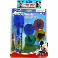 Kids Childrens Disney Mickey Mouse Clubhouse Chunky  Projector Torch Camping