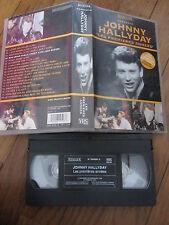 """Johnny Hallyday """"les premières années"""", VHS, Musique/Rock N Roll, RARE!!!"""