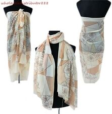 US SELLER Rose evening shawls and wraps bathing suit cover up wrap MR1