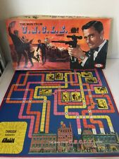 The Man From UNCLE Board Game 1965 Parts Game Board Only