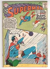 Superman #156 (1939 Series) DC Comics  October 1962 VG/FN