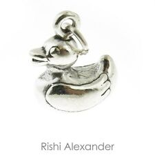 925 Sterling Silver Rubber Duck Toy Charm Made in USA