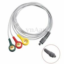 Electrode Pin Lead Wire Cable for HEAL FORCE PRINCE 180B0 Portable ECG Sensor