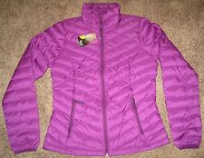 PURPLE Womens S SM Mountain Hardwear Micratio Q-Shield Down Winter Jacket Coat