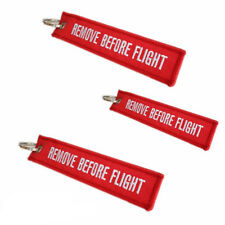 1PC Hot Remove Before Flight Key Holder Luggage Tag Label Key Chain